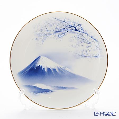 ナルミ 霊峰 富士山 プレート 19cm 52029-1224