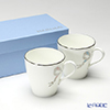 Narumi 'Ferishita!' Blue & Pink 95586/21740P Petite Mug 240ml (set of 2 colors)