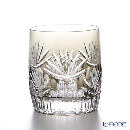 カガミクリスタル ロックグラス 睡蓮 T117-2762BLK