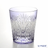 Kagami Crystal Edo kiriko rock glass T557-2472-CMP bamboo up leaves in the cannabis leaf Crest 230 cc