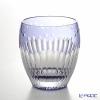 Kagami crystal glass Satoshi nabetani made rock glass T727-2685-CMP Chrysanthemum 240cc