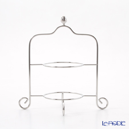 Sakurai 'Stainless' 4 Tier Amuse Stand H23cm *for 14cm Plate*