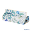 Floret London 'Liberty Print - Irma' Navy Blue Tissue Case Cover 22.5x11.5xH5cm