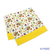 Feiler 'Viola (Flower) White' Yellow Bath Towel 75x150cm