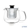 KINTO 'Unitea' [Heat-registant Glass / Stainless] 8308 Tea Pot 450ml
