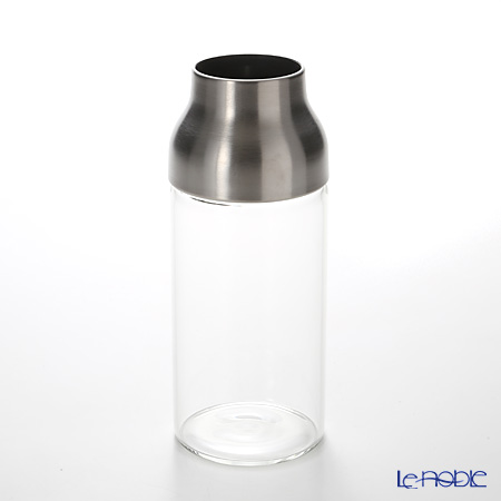 KINTO 'Capsule' [Heat-registant Glass] Water Carafe 700ml with Stainless Steel Lid
