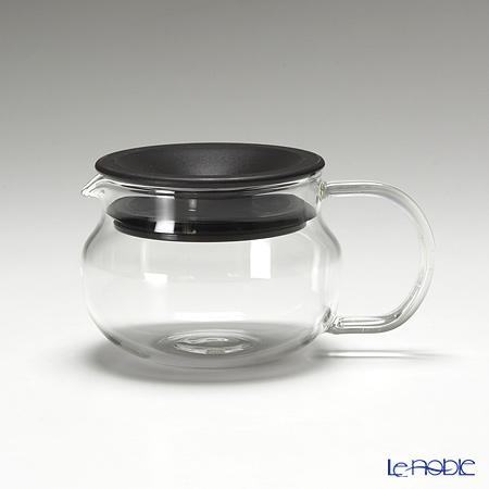 キントー 耐熱ガラス One-touch ティーポット 280ml ブラウン