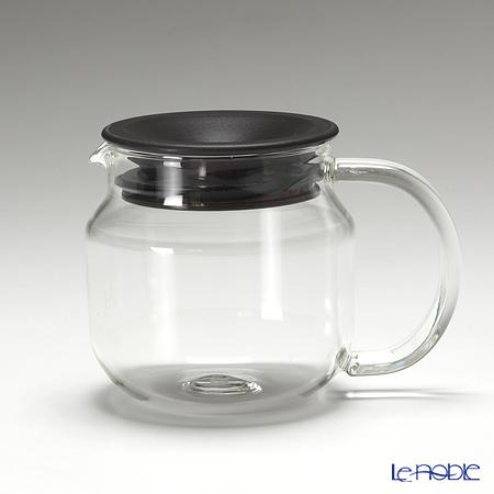 キントー 耐熱ガラスOne-touch ティーポット 450ml ブラウン