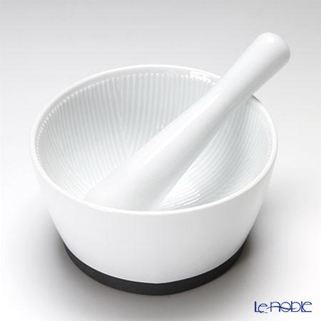キントー すり鉢(すりこぎ付)WHITE 16247