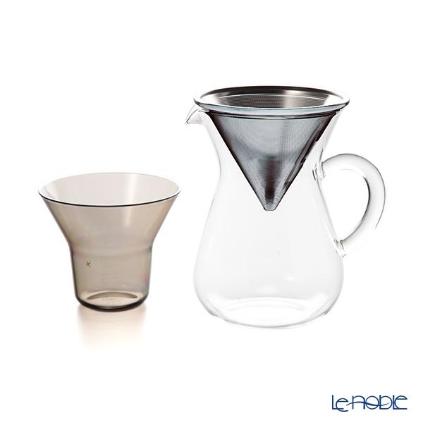 キントー SLOW COFFEE STYLE 27620コーヒーカラフェセット 300ml ステンレスフィルター