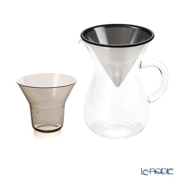 キントー SLOW COFFEE STYLE 27621 コーヒーカラフェセット 600ml ステンレスフィルター