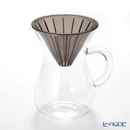 キントー SLOW COFFEE STYLE 27644 コーヒーカラフェセット 600ml プラスチックブリューワー