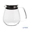 KINTO 'Unitea' [Heat-registant Glass / Stainless / Silicone] 8336 One Touch Tea Pot 720ml