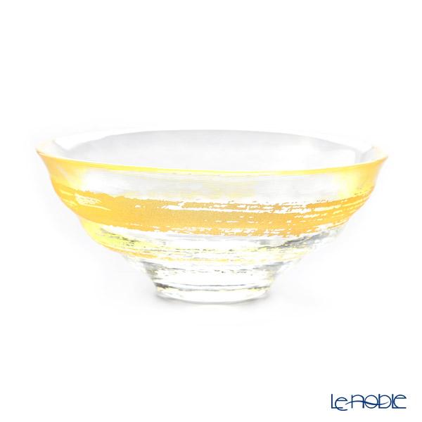 石塚硝子 プレミアムニッポンテイスト 金一文字抹茶碗 耐熱ガラス製 R-6700
