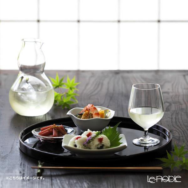 Ishizuka Glass 'Hisago' Clear H-4986 Sake Bottle 370ml