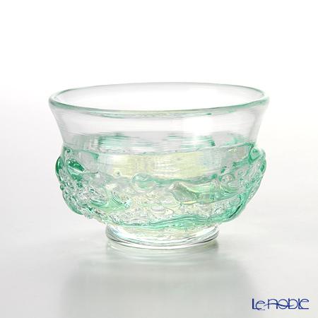 Tsugaru Vidro 'Month Collection - Shin-Ryoku (May)' Light Green Cup 50ml F-62200 津轻玻璃 秋村实工作室 12月份收藏系列 5月 新绿 酒杯