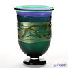Tsugaru Vidro Glass Minoru Akikawa Studio Vase, hydrangea F-79628