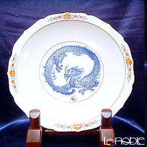 【伝統工芸】古琳庵窯 染錦龍絵 スープ鉢