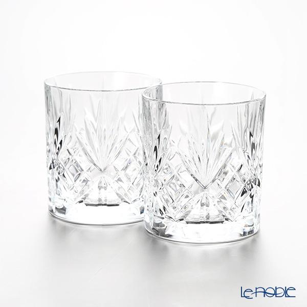 RCR Home&Table メロディア クリスタル オールドファッション (L) 310cc H9.4cm ペア