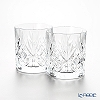 RCR Home &Table Melodia Crystal Old fashioned (L) 310 cc H9.4cm pair.