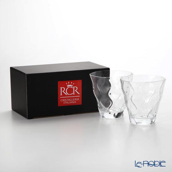 RCR Home&Table リフレッシ クリスタルタンブラー(L) 300cc H9.5cm ペア