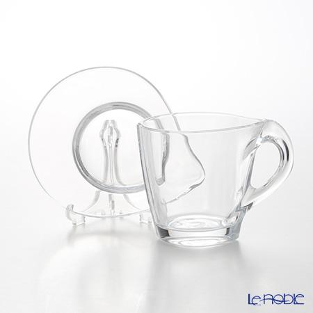 RCR Home&Table ハッピーカプチーノカップ&ソーサー 260cc ペア