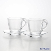 RCR Home & Table 'Happy' Cappuccino Coffee Cup & Saucer 260ml (set of 2)