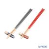 Wakasa Lacquerware x Mino ware 'Haze' Navy Blue x Red Chopsticks & Chopstick Rest (set of 4 for 2 persons)