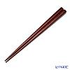 Chopsticks partly birch trees 23.5 Cm (dish washing machine handles) Red