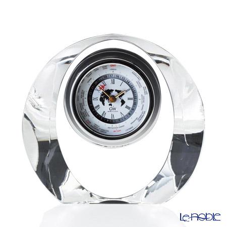 ナルミ グラスワークス マロン 世界時計 GW1000-11066