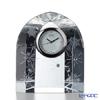 Narumi 'Glass - Snowglake & Star' GW1000-11067 Desk Clock H7.5cm