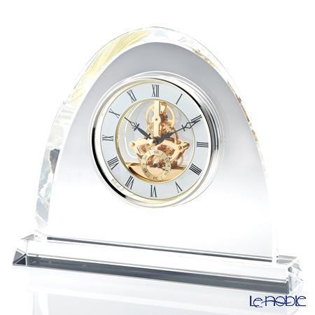 ナルミ グラスワークス オーバル スケルトンクロック GW1000-11071