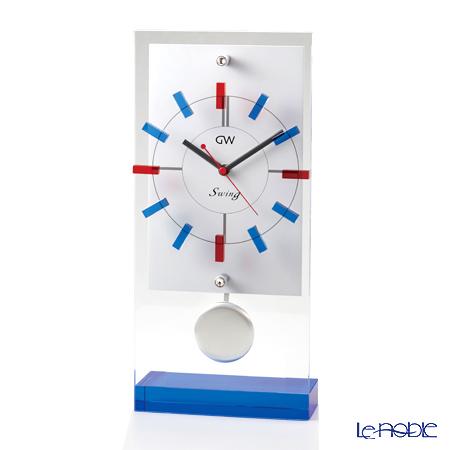 ナルミ グラスワークス スイング 振子時計(スタンド) GW1000-11072
