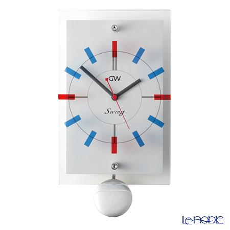 ナルミ グラスワークス スイング 振子時計(壁掛) GW1000-11073