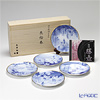 Okura Art China Tale of Genji 34HV/A585 5pcs of plate with CD Replacement plate-5 reading CD