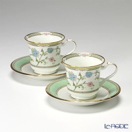 ノリタケ ヨシノ Y6704/9983 アメリカン碗皿 ペア