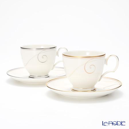 ノリタケ ファインポーセレンコーヒーカップ&ソーサー ペア P95688/9316-7