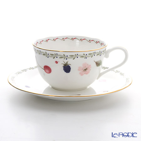 ノリタケ ポートショア T59387A/4613ティー・コーヒー碗皿
