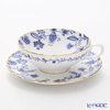 Noritake Blue Sorrentino T58043A/4562 Tea Cup & Saucer
