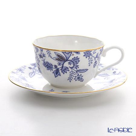 ノリタケ ブルーソレンティーノ T59387A/4562ティー・コーヒー碗皿