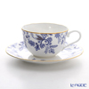 Noritake Blue Sorrentino T59387A/4562 Tea coffee cup plate