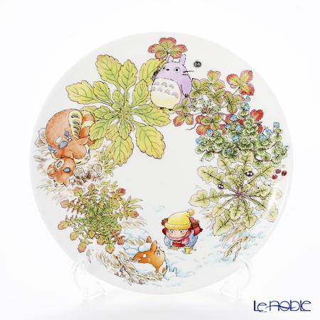 Noritake My Neighbor Totoro (吉卜力工作室 龙猫/豆豆龙) Plate 23 cm, Veronica persica T50116A/4660-1