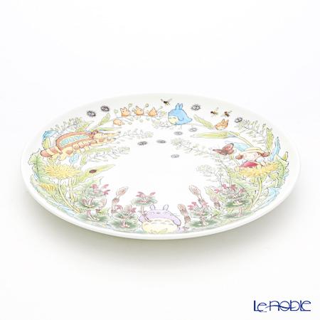 Noritake My Neighbor Totoro Plate 23 cm, Dandelion T50116A/4660-2 则武 吉卜力工作室 龙猫/豆豆龙 23cm盘 蒲公英
