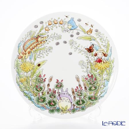 Noritake My Neighbor Totoro (吉卜力工作室 龙猫/豆豆龙) Plate 23 cm, Dandelion T50116A/4660-2