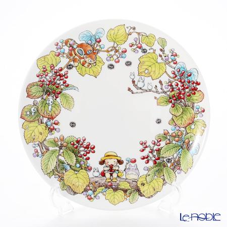 Noritake My Neighbor Totoro (吉卜力工作室 龙猫/豆豆龙) Plate 23 cm, Viburnum dilatatum T50116A/4660-5