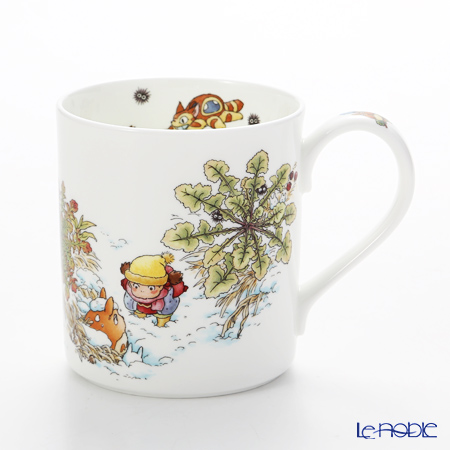Noritake My Neighbor Totoro (吉卜力工作室 龙猫/豆豆龙) Mug, Veronica persica T97265/4660-1