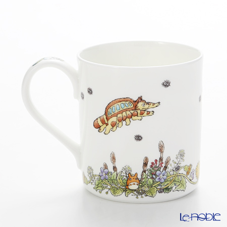 Noritake My Neighbor Totoro Mug, Dandelion T97265/4660-2 则武 吉卜力工作室 龙猫/豆豆龙 马克杯 蒲公英