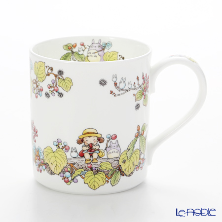 Noritake My Neighbor Totoro (吉卜力工作室 龙猫/豆豆龙) Mug, Viburnum dilatatum T97265/4660-5