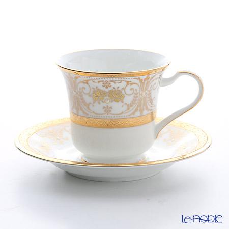 ノリタケ ジョージアンパレスアメリカン碗皿 T59589/4858
