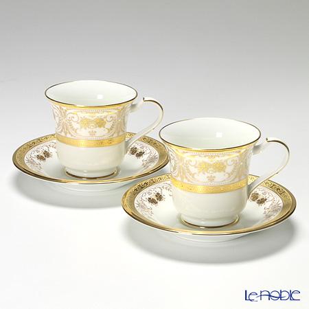ノリタケ ジョージアンパレス アメリカン碗皿 ペア P59589/4858